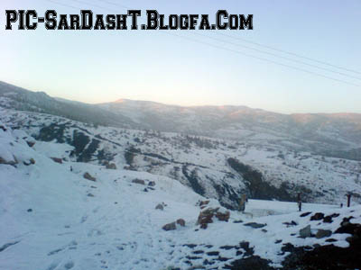 زمستان سردشت sardasht city photo blog
